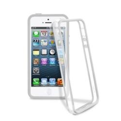 Cellularline Bumper iPhone 5/5S fehér telefontok (BUMPERIPHONE5W)