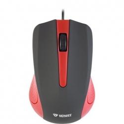Yenkee YMS 1015RD USB optikai piros-fekete egér
