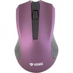 Yenkee YMS 2015PE wireless optikai lila egér