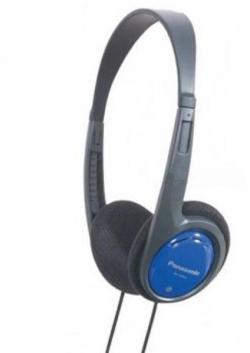 Panasonic RP-HT010E-A kék-fekete fejhallgató