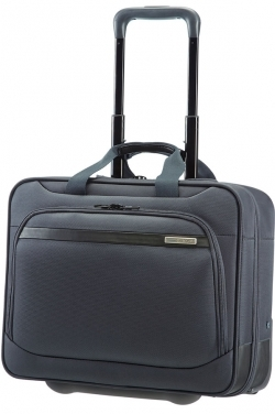 Samsonite VECTURA OFFICE CASE/WH 15.6'' szürke görgős notebook táska (39V-008-009)