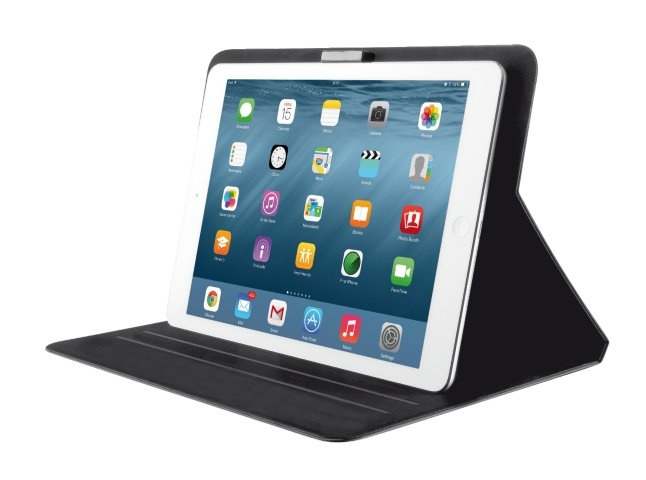 Trust Aeroo Ultrathin Folio Stand for iPad 2 3 4 Air Air 2 Fekete Tablet Tok  ... 02239364f4
