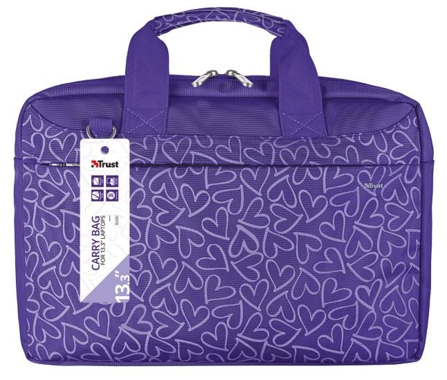 Trust Bari Carry Bag 13.3   Lila-mintás Notebook Táska (21164) b6bdeeed6d
