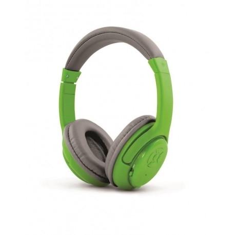 ESPERANZA LIBERO bluetooth zöld-szürke mikrofonos fejhallgató (EH163G) a101101ade