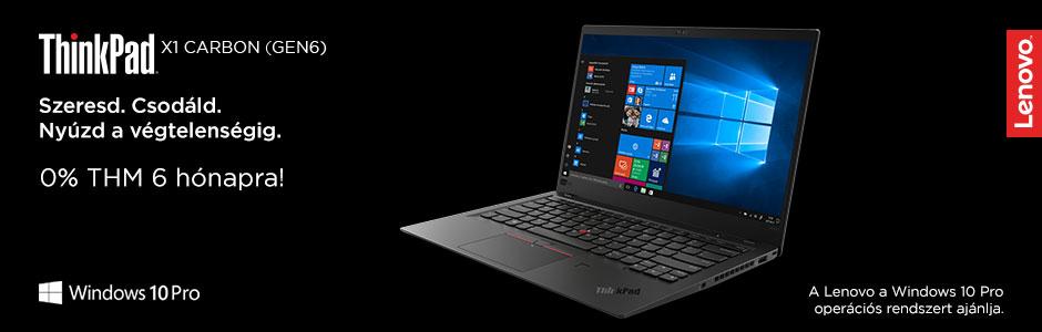 Lenovo ThinkPad notebookok most 0% THM-el!