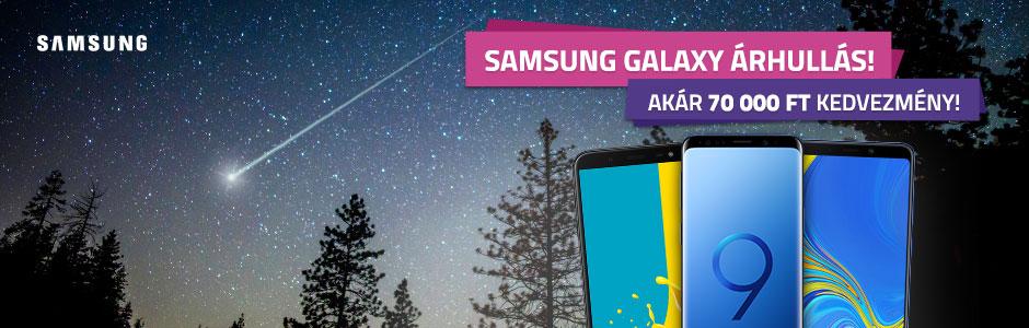 Samsung Galaxy okostelefonok, most szuper árakon!