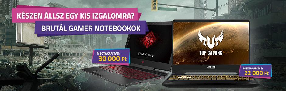 Gamer notebook akció!