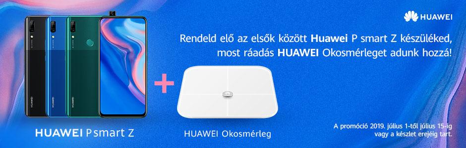 Huawei P smart Z előrendelési akció!
