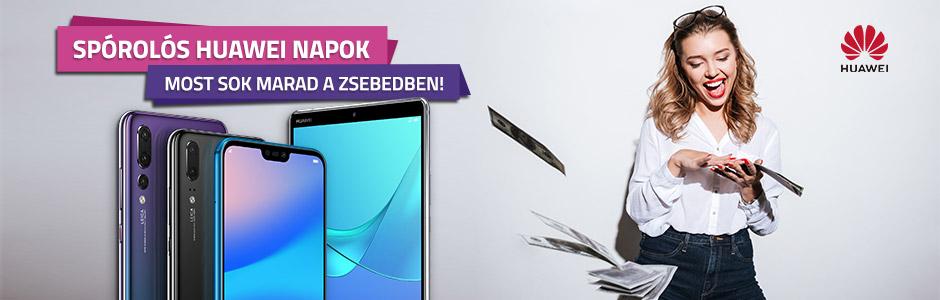 Huawei okostelefonok, tabletek őrült árakon!