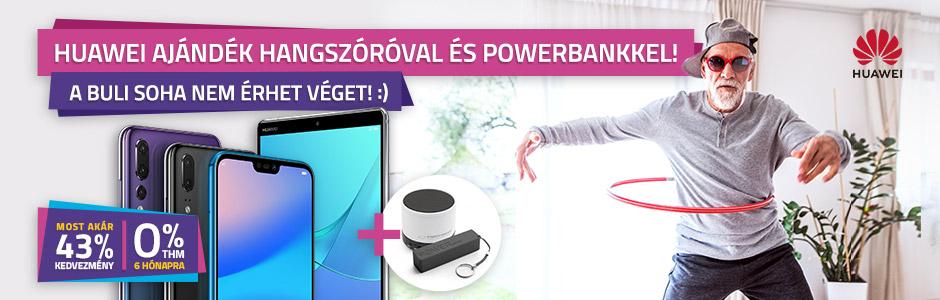 Huawei okostelefonok, tabletek ajándékokkal!