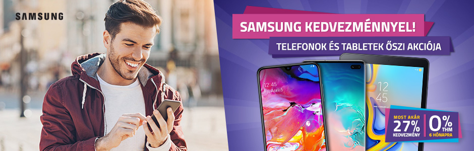 Samsung Galaxy akció!