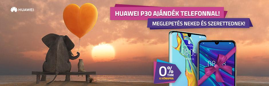 Huawei P30 / P30 Pro ajándék Huawei Y5 2019 okostelefonnal!
