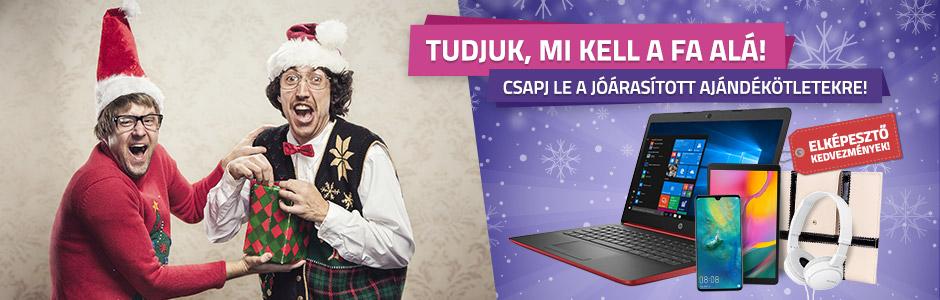 Szerezd be a karácsonyi ajándékokat nálunk!