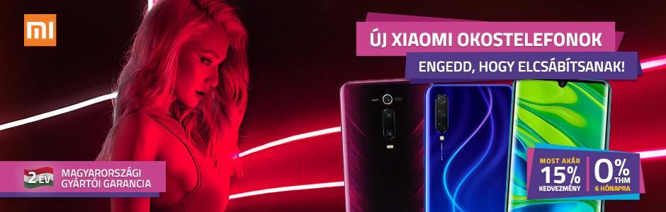 Xiaomi okostelefonok akár 15% kedvezménnyel!